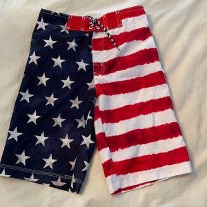 TWO pairs Boys Swim Shorts